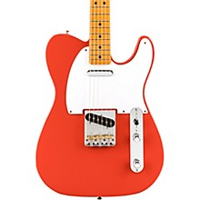 Vintera '50s Telecaster Electric Guitar Fiesta Red
