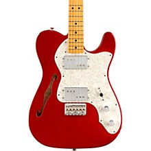 Vintera '70s Telecaster Thinline Electric Guitar Candy Apple Red
