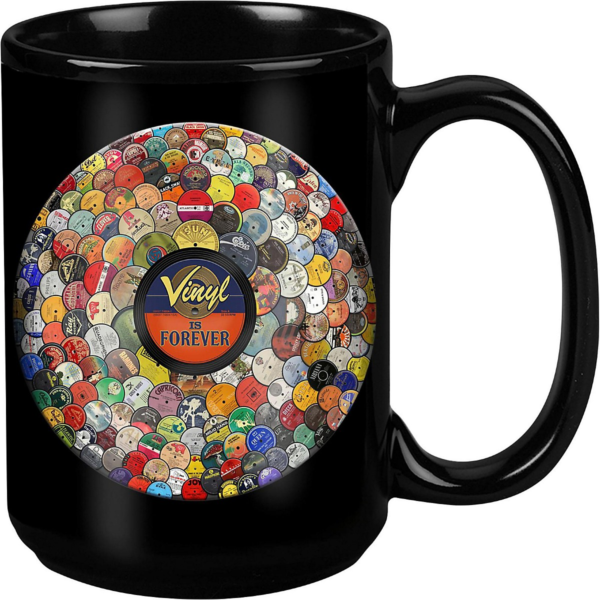 Taboo Vinyl Is Forever Black Mug 15 oz