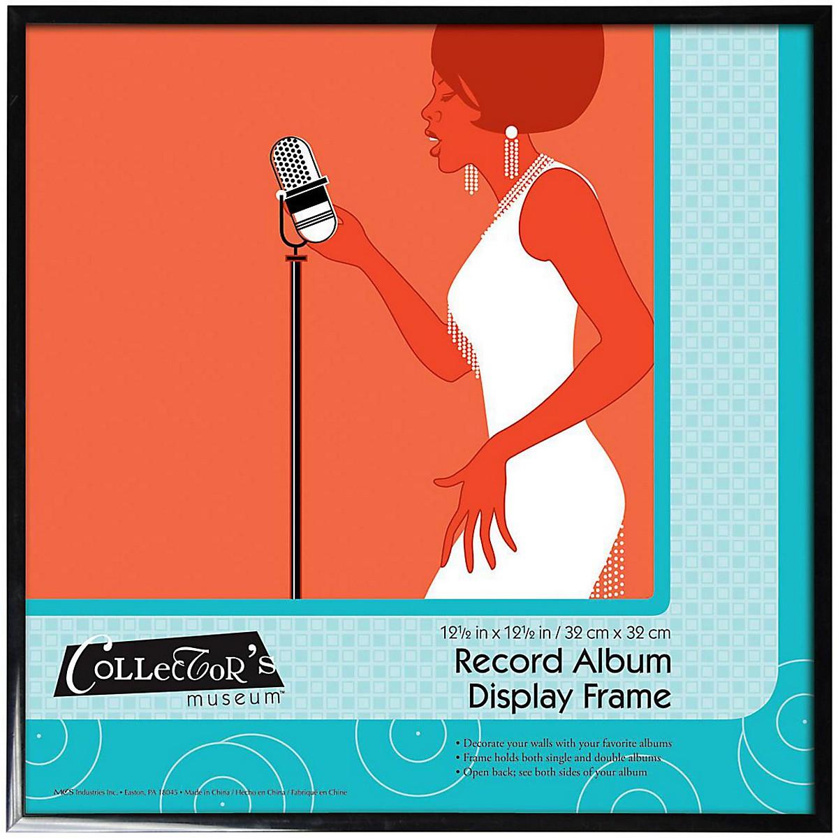 Collector's Museum Vinyl LP Record Album Aluminum Frame Regular