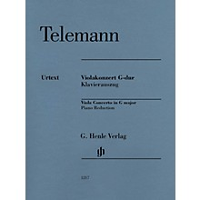 G. Henle Verlag Viola Concerto in G Major (Viola with Piano Reduction) Henle Music Folios Series Softcover
