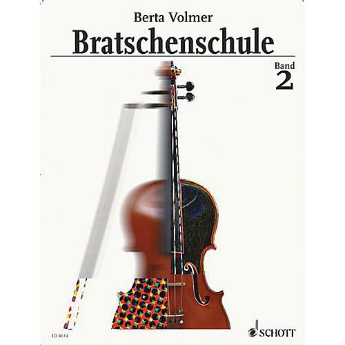 Schott Viola Method - Volume 2 (German Language) Schott Series