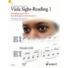Schott Viola Sight-Reading 1 String Series Written by John Kember