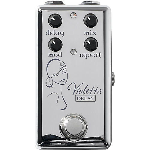 Red Witch Violetta Delay Guitar Effects Pedal
