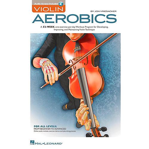 Hal Leonard Violin Aerobics Book/Online Audio