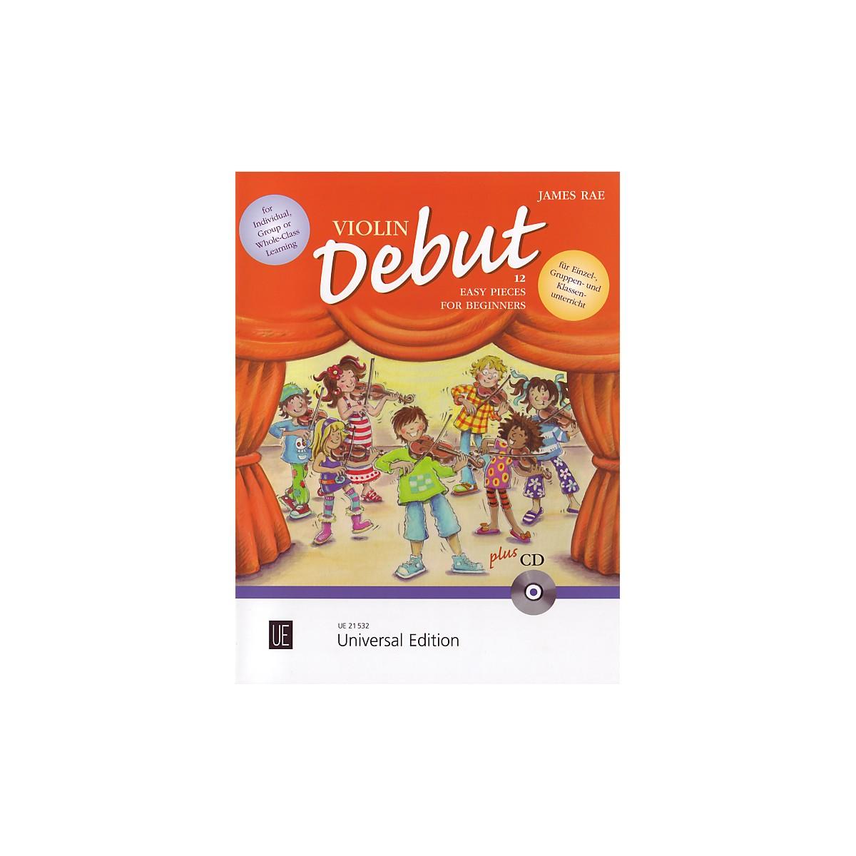 Theodore Presser Violin Debut - Pupils Book (Book + CD)