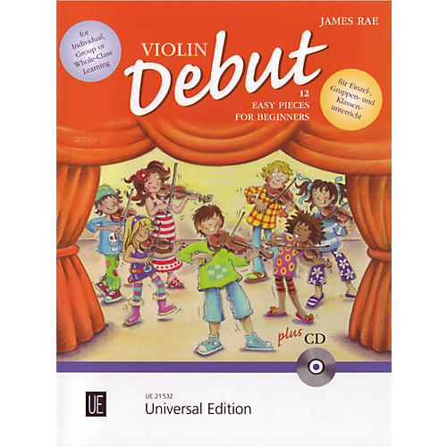 Theodore Presser Violin Debut - Pupils Book (Book + CD)