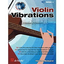 De Haske Music Violin Vibrations (12 Colorful Pieces for the Creative Violin Player) De Haske Play-Along Book Series