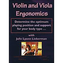 Hal Leonard Violin & Viola Ergonomics DVD