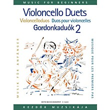Editio Musica Budapest Violoncello Duos for Beginners - Volume 2 EMB Series Composed by Various