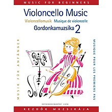Editio Musica Budapest Violoncello Music for Beginners - Volume 2 (Cello and Piano) EMB Series Composed by Various