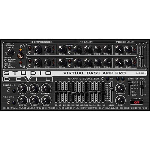 Studio Devil Virtual Bass Amp Pro Software Download
