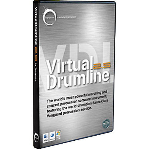 Hal Leonard Virtual Drumline 2.5 Marching and Concert Percussion Software Instrument