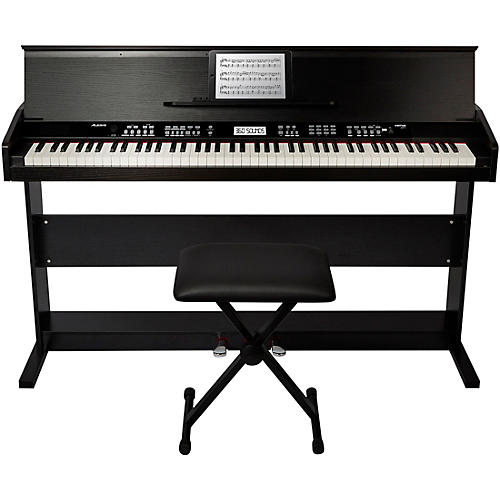 Alesis Virtue 88-Key Digital Piano with Stand and Adjustable Bench