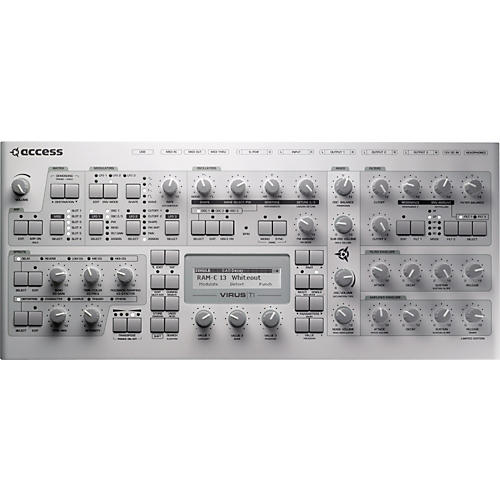 Access Virus TI v2 WhiteOut Special Edition Desktop Synthesizer