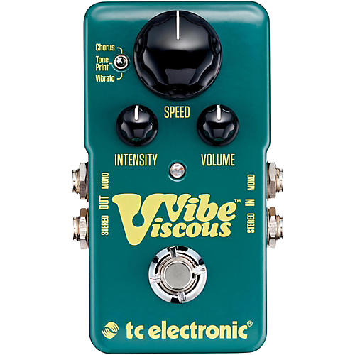 TC Electronic Viscous Vibe Univibe Guitar Effects Pedal