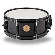 Vision Birch Snare Drum Black with Black Hardware 14x5.5