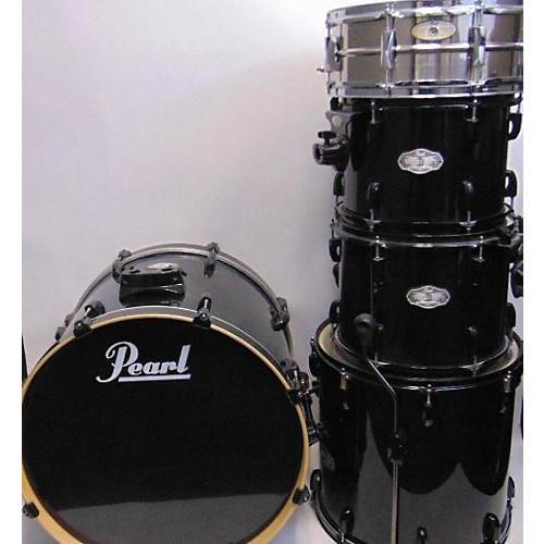 used pearl vision drum kit black guitar center. Black Bedroom Furniture Sets. Home Design Ideas