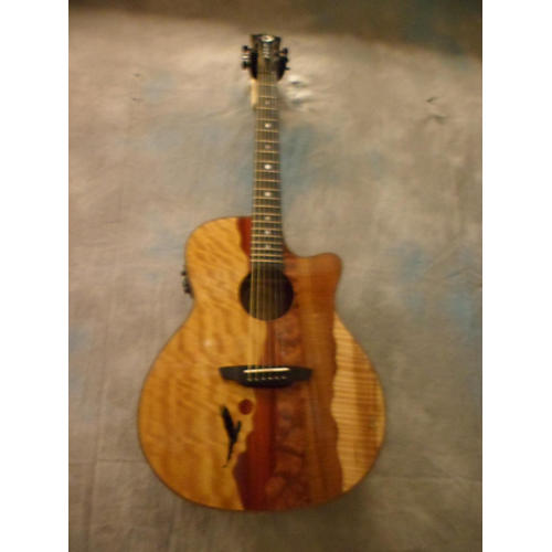 Luna Guitars Vista Eagle Acoustic Electric Guitar