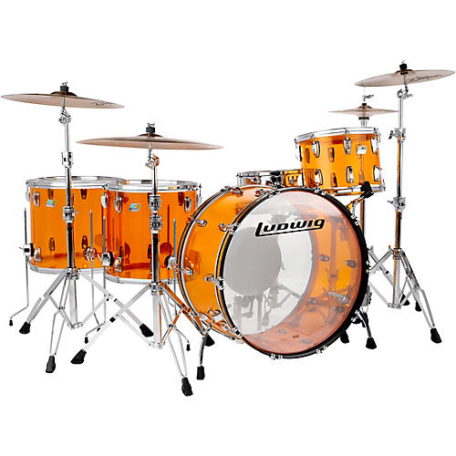 Ludwig Vistalite Zep 5-Piece Shell Pack