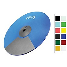 VisuLite Professional Triple Zone Ride Cymbal 18 in. Fluorescent Blue