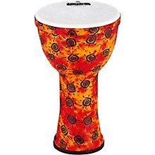 VivaRhythm Boom Series Djembe Pre-tuned Synthetic Head 9 in. Sunshine