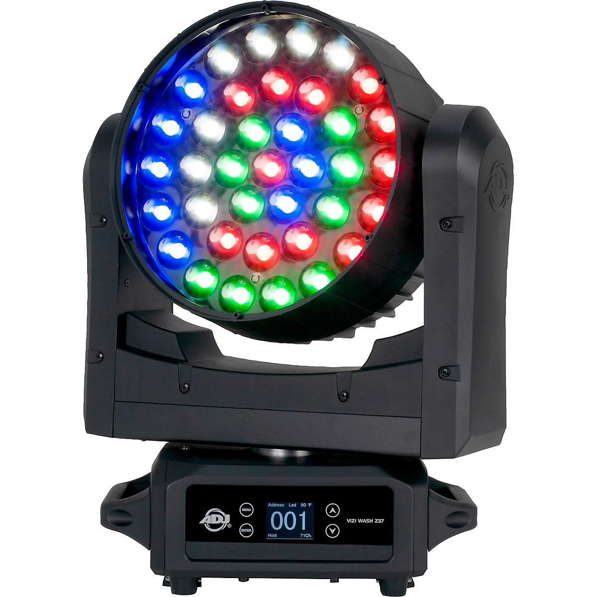 American DJ Vizi Wash Z37 RGBW Moving-Head LED