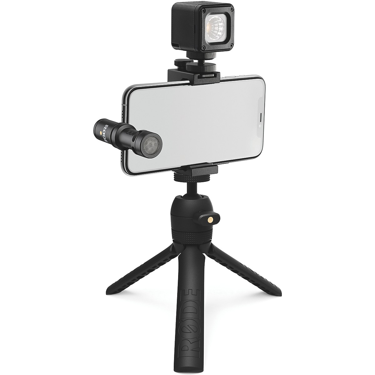 Rode Vlogger Kit for USB-C Devices - Includes Tripod, MicroLED light, VideoMic ME-C and Accessories