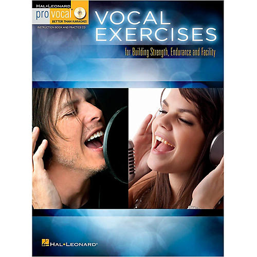 Hal Leonard Vocal Exercises for Building Strength, Endurance and Facility - Pro Vocal Series Book/Online Audio