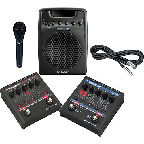 TC Helicon Vocal Pedal & Personal Monitor Package