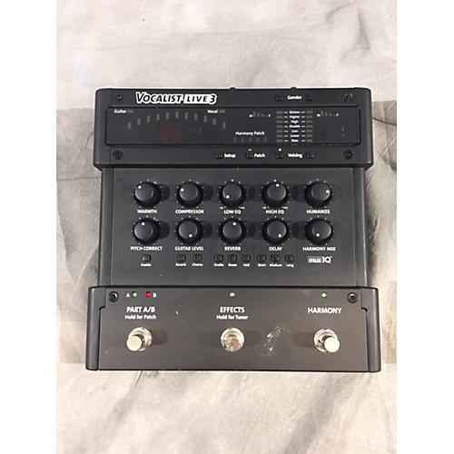 Digitech Vocalist Live 3 Harmony Pitch Correction Vocal Processor