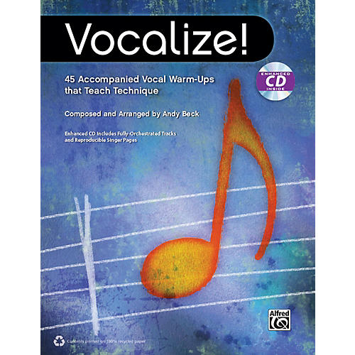 Alfred Vocalize!  (Book/CD)