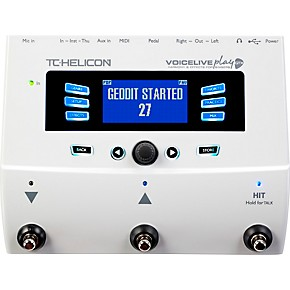 tc helicon voicelive play gtx guitar vocal harmony and effects pedal guitar center. Black Bedroom Furniture Sets. Home Design Ideas