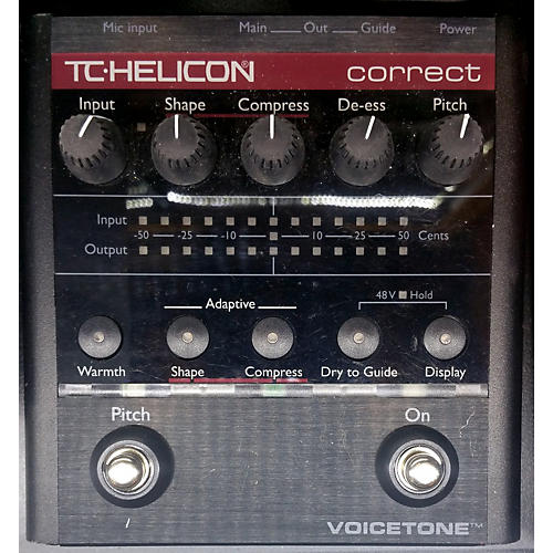 TC Helicon VoiceTone Correct Vocal Processor