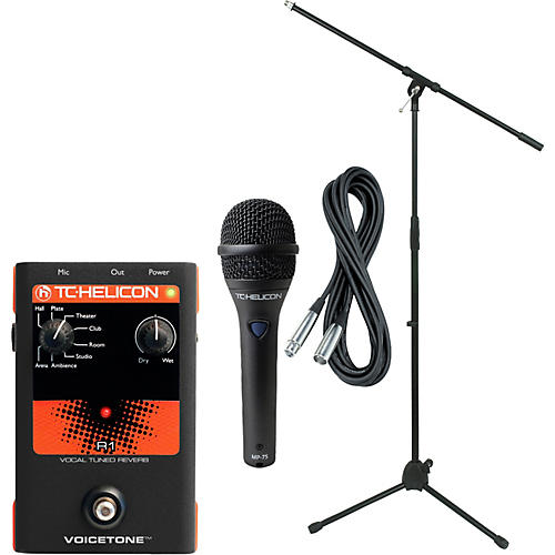 TC Helicon VoiceTone R1 with MP-75 Mic
