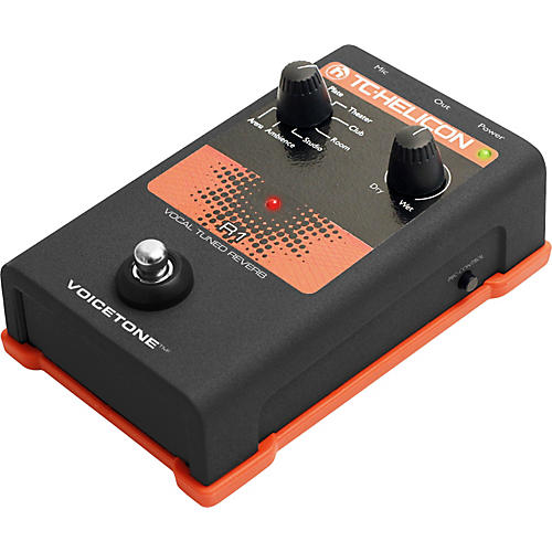 TC Helicon VoiceTone Single R1 Vocal Tuned Reverb