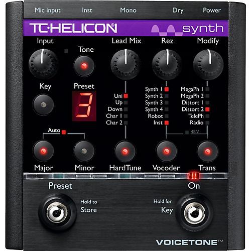tc helicon voicetone synth hardtune vocoder pedal guitar center. Black Bedroom Furniture Sets. Home Design Ideas