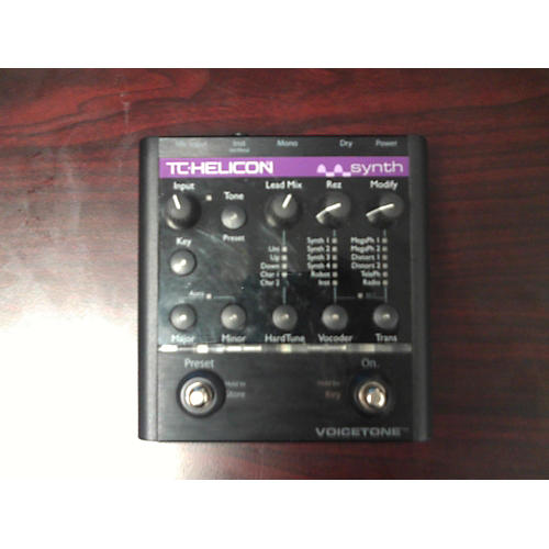 TC Helicon VoiceTone Synth Vocal Processor