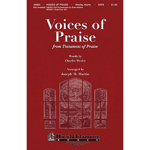 Shawnee Press Voices of Praise (from Testament of Praise) SATB arranged by Joseph M. Martin
