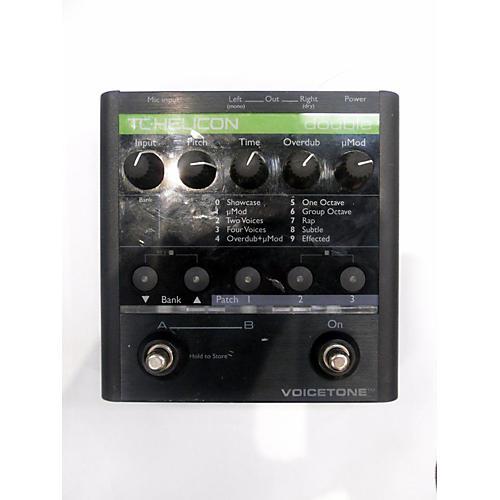 TC Helicon Voicetone Double Effect Pedal