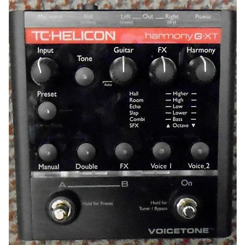 TC Helicon Voicetone Harmony-G XT Effect Pedal