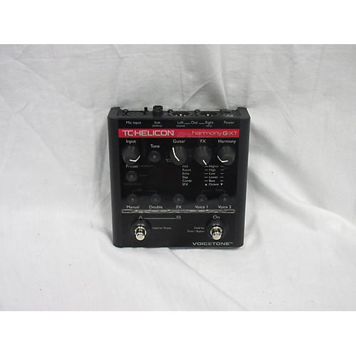 Used Tc Helicon Voicetone Harmony G Xt Vocal Processor