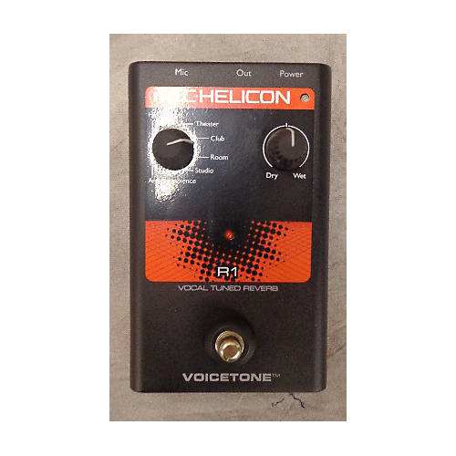 TC Helicon Voicetone Reverb Effect Pedal