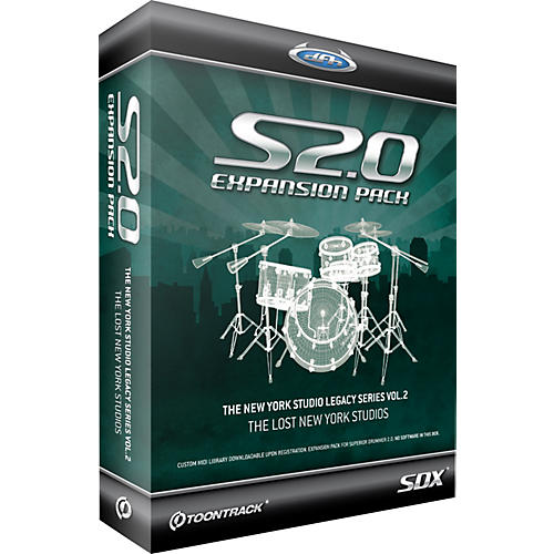 Toontrack Vol. 2 SDX Superior 2.0 Expansion
