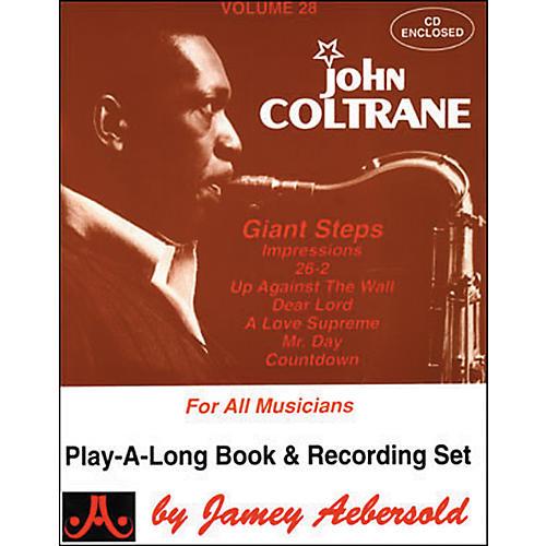 Jamey Aebersold Volume 28 - John Coltrane - Play-Along Book and CD Set