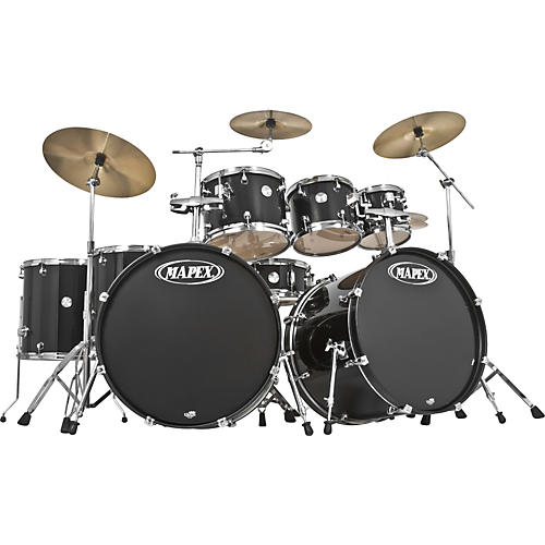 Mapex Voyager 8 Piece Double Bass Drum Shell Pack With Throne