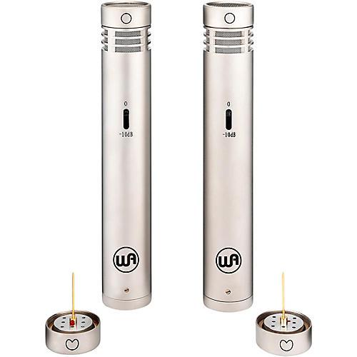 Warm Audio WA-84 Premium Stereo Package - Cardioid and Omni Capsules