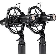 WA-84 Small Diaphragm Condenser Microphone Stereo Pair Black