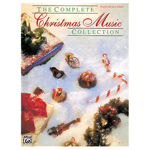 Alfred WB F3350SMD COMPLETE CHRISTMAS MUSIC COLLECTION PVG SNGBK