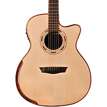 Washburn WCG25SCE Comfort Series Grand Auditorium Cutaway Acoustic-Electric Guitar